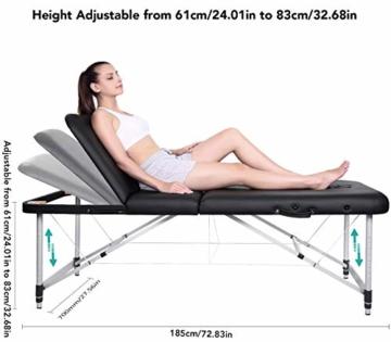 Mobile Massageliege Test